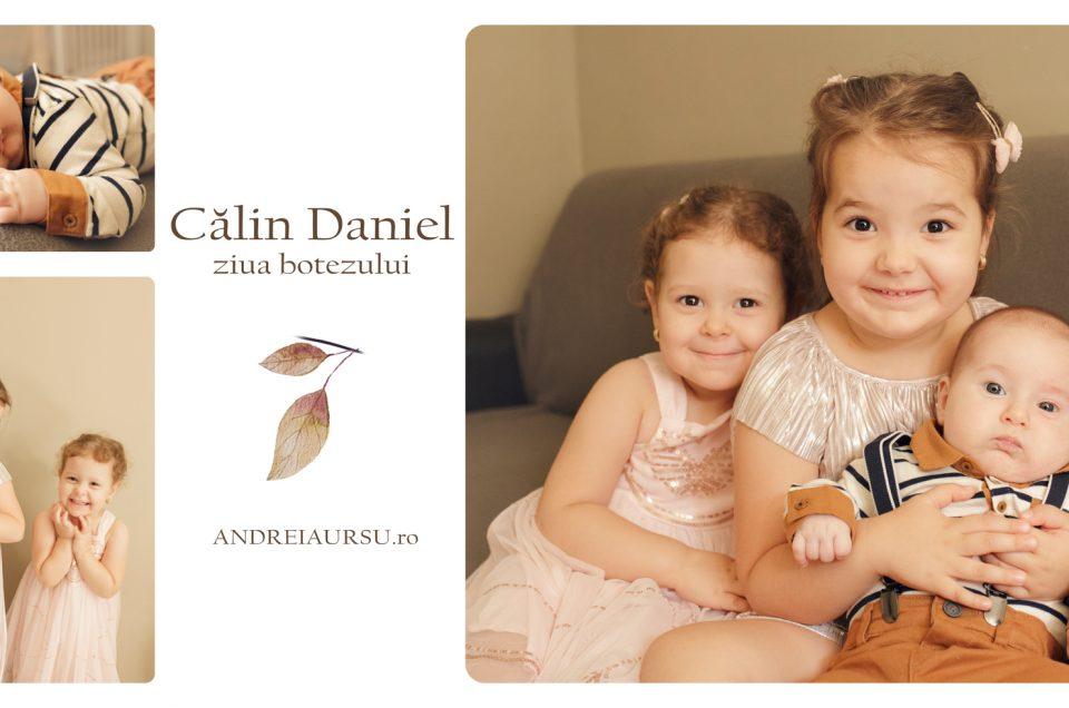 Calin Daniel – ziua botezului